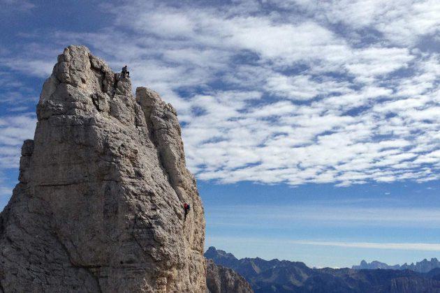 La scalata alle Torri del Vajolet