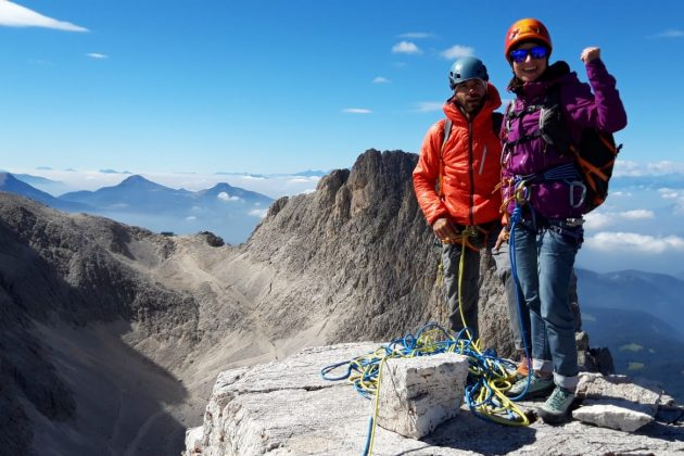Climbing stage in September