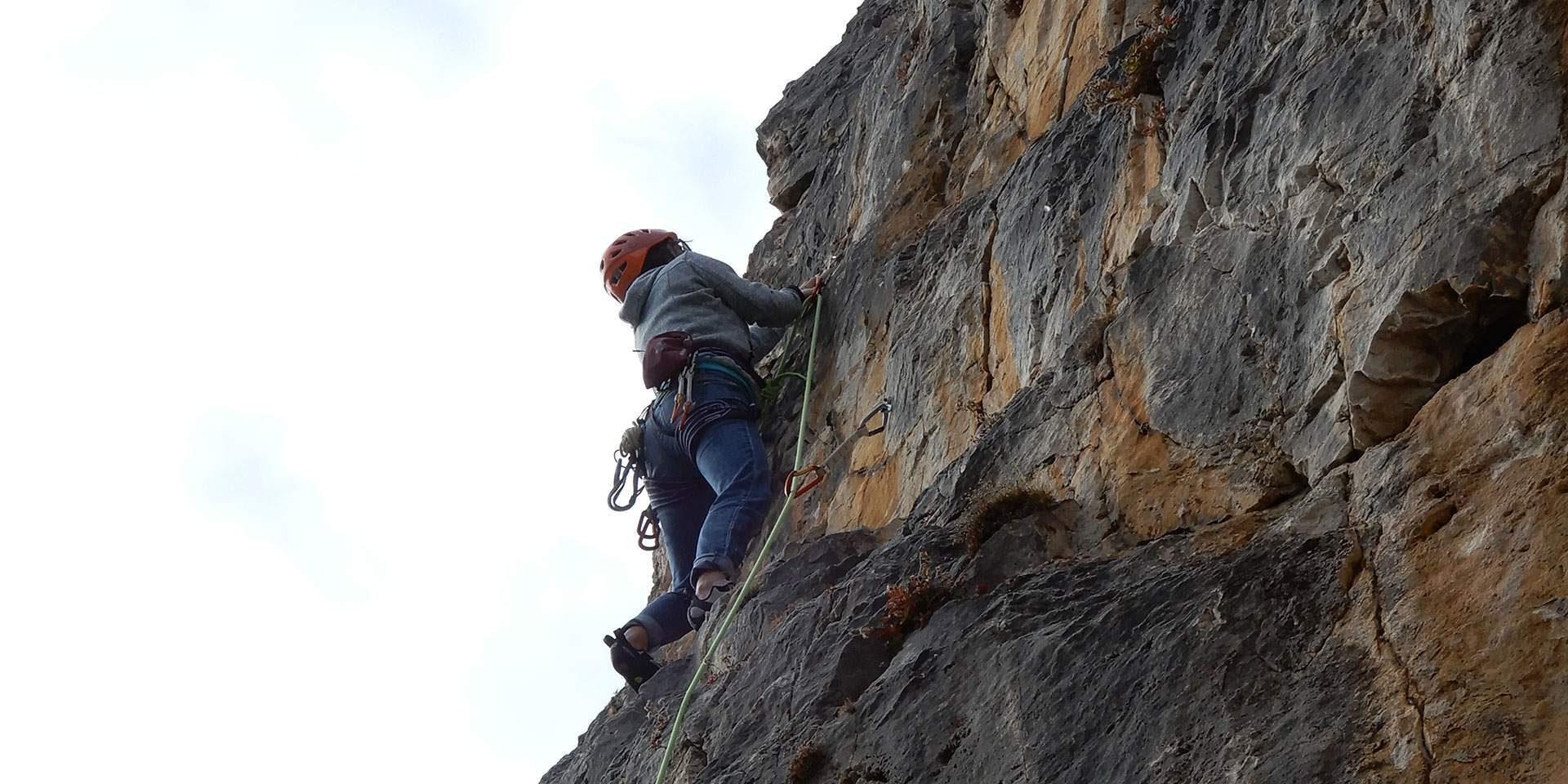 Sport climbing course