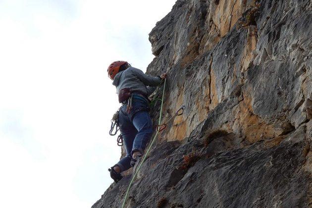 Lezioni di arrampicata outdoor